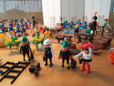 Large lot of playmobil geobra