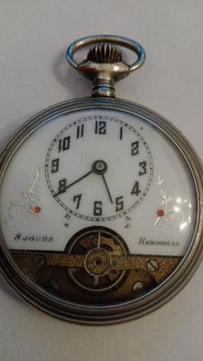 Hebdomas 8 DAYS – Men's pocket watch – Year: 1930