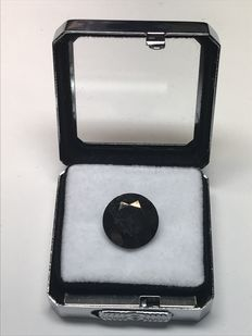 natural black diamond - 9.056 ct
