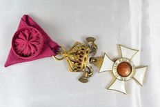 Cross of Commander of the Order of Saint-Alexander from Bulgaria