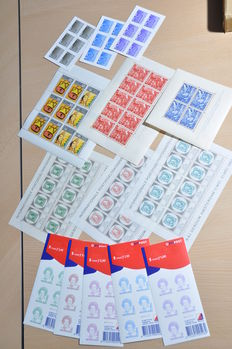 Netherlands - various blocks and sheets.