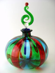 Angelo Ballarin - Glass bottle with stopper