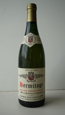 1991- Hermitage Blanc, Domaine Jean-Louis Chave, one bottle.