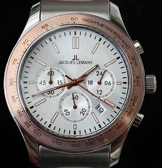 Jacques Lemans AC VD53 Chronograph  –  wristwatch  –  modern