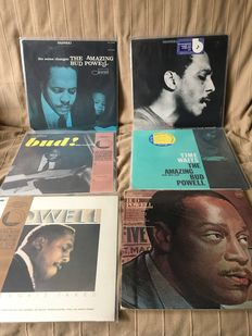 Piano Giants : Bud PowellL & Oscar Peterson 16 LP Albums