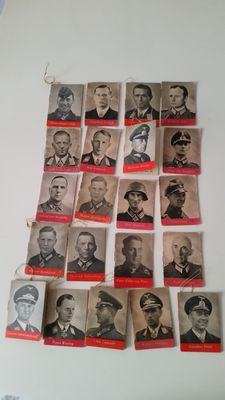 "21 Image Documents ""Wehrmacht Day"" ""Winter Aid"" 1942/43"