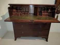 Mahogany secretary - 19th century