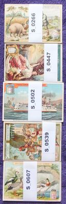 Chromo Liebig - 30 cards - 5 sets - French - German - (1890 / 1899)