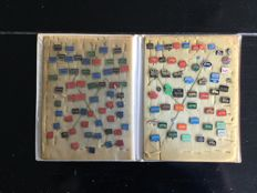Special car pins from the 1960s - more than 140 pieces