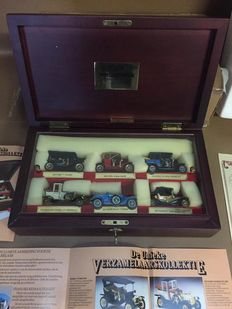 Matchbox - Scale 1/43 - Connoisseur Collection 'models of yesteryear' set of 6 cars in showcase and paper work