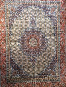 Persian Royal Moud Carpet Rug XL 353x258cm