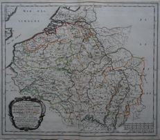 Belgium, Germany, France; Nicolas Sanson/Pierre Mariette-LA BELGIQUE ou sont les Provinces the Treves, Rheims (..)-1657