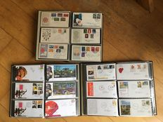 The Netherlands - collection of FDCs between E12 and E516.