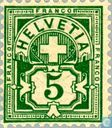 Postage Stamps - Switzerland [CHE] - Cross and Figure