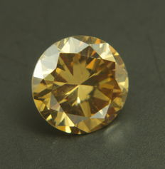 Yellow Diamond of 0.59ct