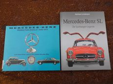 2 Mercedes-Benz books production models 1946-1975 - Mercedes SL Die Sportwagenlegende