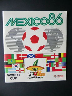 Panini Mexico 86 World Cup - Complete album - Wonderful condition.
