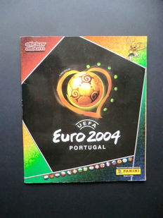 Panini - Euro 2004 - Complete album - Wonderful condition