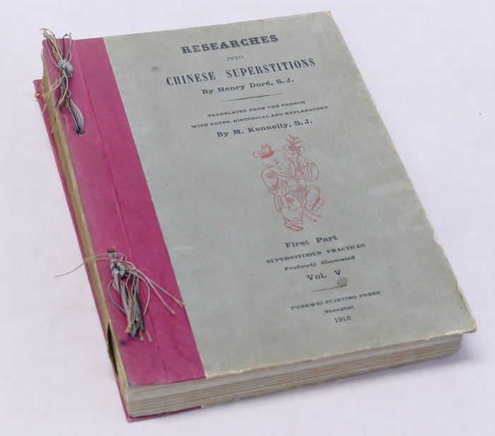 Henry Dorè - Researches into Chinese Superstitions - Vol. V - 1918
