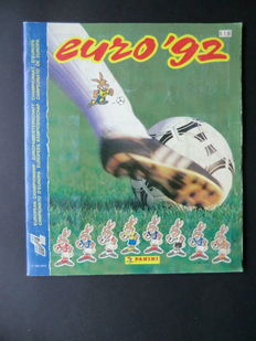 Panini - Euro 92 - Complete album - In very good condition.