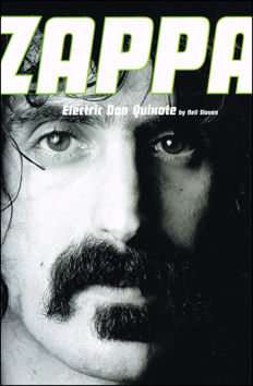 Popmusic; Lot with 7 books from and over Frank Zappa - 1982/1996
