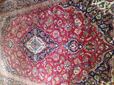 Wonderful & Original Persian Iran Kaschan Finely hand knotted 195x304 cm