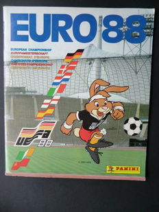 Panini - Euro - Complete album - Beautiful condition