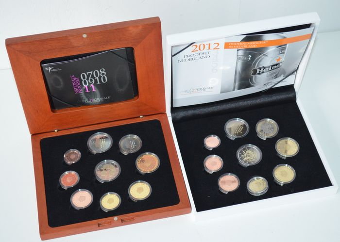 The Netherlands - Year packs (Proof) 2011 and 2012.