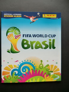 Panini - 2014 FIFA World Cup Brasil - Complete album - Beautiful condition.