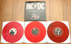 AC/DC – Live At Coachella Festival 3lp/ Limited, numbered edition of 250 copies worldwide on red marbled wax/ NEAR MINT