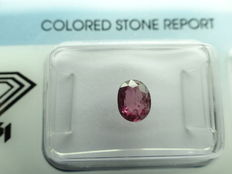 Ruby, 0.80 ct