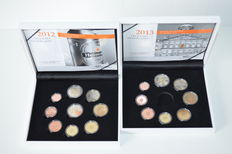 The Netherlands – year packs (Proof) 2012 and 2013.
