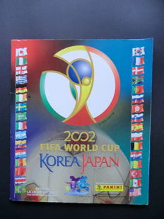 Panini 2002 - FIFA World Cup Korea/Japan - complete album - Beautiful condition.