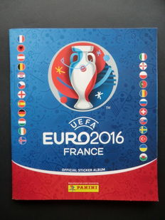 Panini - Uefa Euro 2016 France - Complete album - Beautiful condition.
