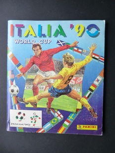 Panini - Italia 90 World Cup - Complete album - Very good condition