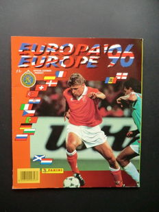 Panini - Euro 96 - Complete album - Beautiful condition - Including order form