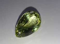 Spodumene - Yellowish Green - 35.16 ct