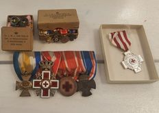 Lot of various awards and medals, The Netherlands