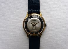 LANCO 'TheSeeThru' Art Deco Man's Wristwatch From The Early 1950s