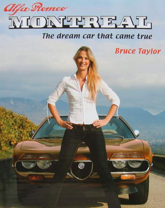 Book : Alfa Romeo Montreal - 206 pages - as new