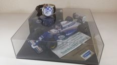 WILLIAMS RENAULT ROTHMANS - Damon Hill F1 Car Model scale 1/43 and Watch