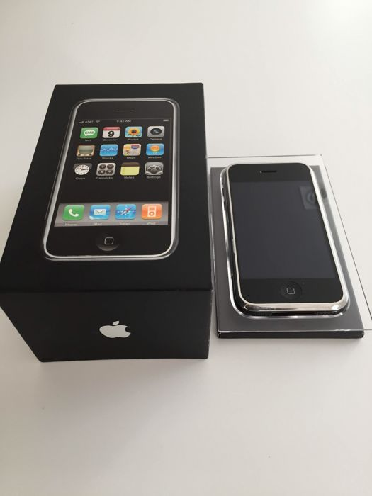 apple iphone 2g 8gb first generation original box dock cable