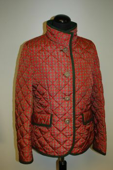 Clothes manufacturer Habsburg - fine hunting- and formal dress - quilted jacket with deer