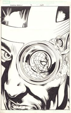 Original Cover Art By Mike Deodato Jr. - Marvel Comics - Spider-man: Breakout #4 (2005)
