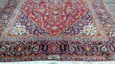 Antique Kashan (Shad Sar) – extra fine Persian – 207 x 131 cm – signed by the master weaver