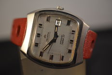 Helvetia Beatmaster Jubile 75- vintage men,s watch from 1970,s in excellent condition