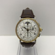 Baume & Mercier Chronograph Moonphase Calendar, unisex watch.