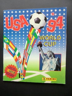 Panini USA 94 World Cup - Complete album - International edition - Beautiful condition.