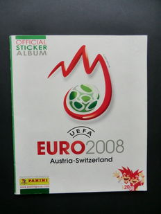 Panini UEFA Euro 2008 Austria/Switzerland - Complete album - Beautiful condition - Including 2 x different Pawel Golanski,