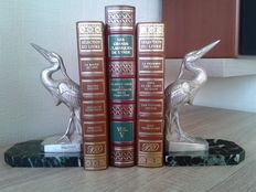 Maurice Frécourt - silvery book ends